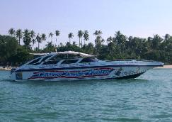 Click photo to visit our Speed Boat Charter section